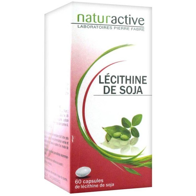Naturactive Lecithine de Soja Λεκιθίνη Σόγιας, Βοηθάει Στην Μείωση της Χοληστερίνης  60caps