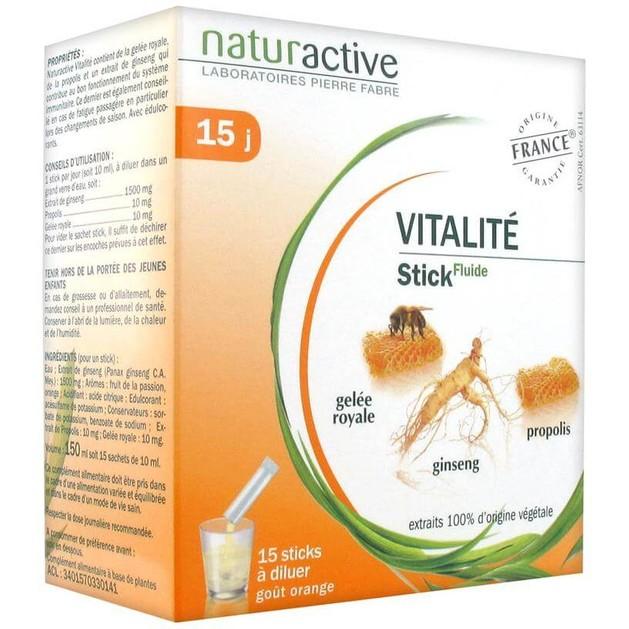Naturactive Vitalite Φυσικό Συμπλήρωμα για Ενίσχυση του Ανοσοποιητικού & Τόνωση του Οργανισμού σε Περιόδους Κόπωσης  15sachets