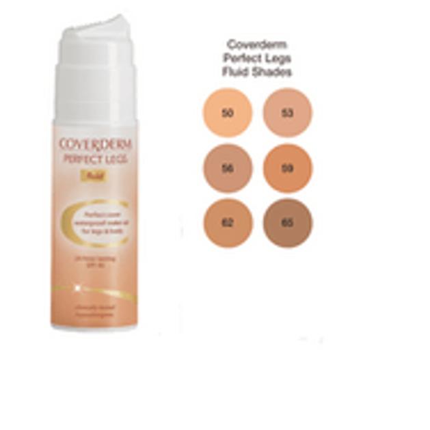 Coverderm Perfect Legs Fluid Αδιάβροχο Make-up Πόδια και Σώμα 75ml