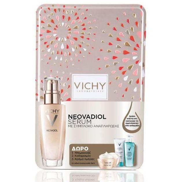 Vichy Neovadiol Serum 30ml & Δώρο Γαλάκτωμα Καθαρισμού 3 in1 15ml & Fresh Gel 15ml & Neovadiol Cream Κανον/μικτές 15ml