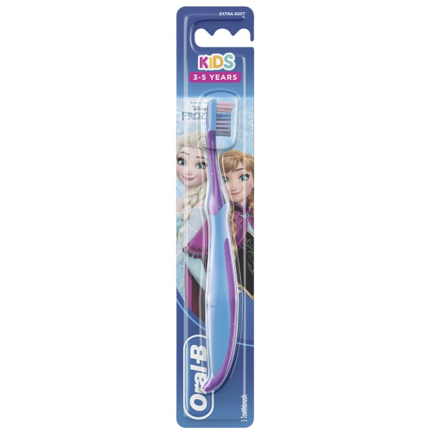 Oral-B Kids Frozen Χειροκίνητη Παιδική Οδοντόβουρτσα Extra Soft, 3-5 Ετών 1 Τεμάχιο