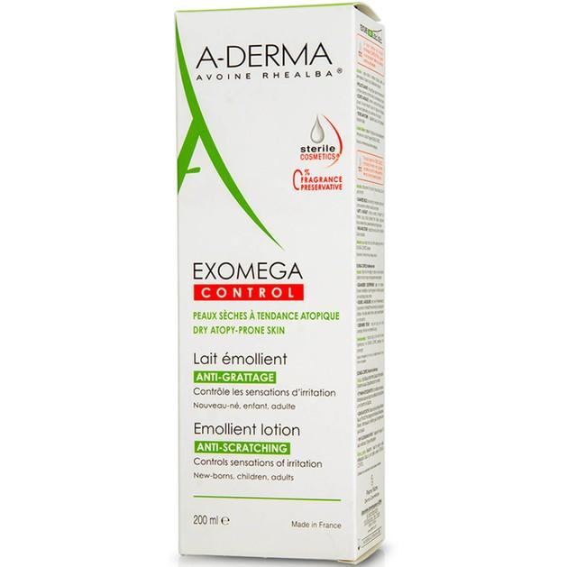 A-Derma Exomega Control Lait DEFI Emollient Lotion 200ml