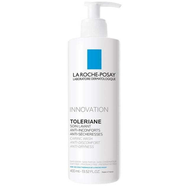 La Roche-Posay Innovation Toleriane Soin Lavant Caring Wash Anti-Dryness Φροντίδα Καθαρισμού για Ξηρή Ευαίσθητη Επιδερμίδα 400ml