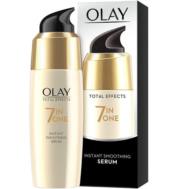 Olay Total Effects Instant Smoothing Serum Ενισχυμένος Ορός Εντατικής Ενυδάτωσης, Λειαίνει Ορατά τις Λεπτές Γραμμές 50ml