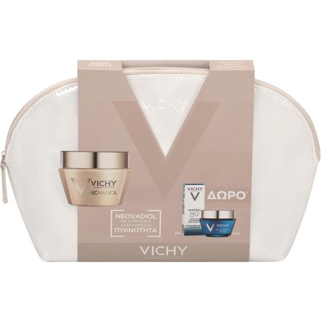 Vichy Πακέτο Προσφοράς Neovadiol Dry Skin 50ml & Neovadiol Nuit 15ml & Mineral 89 Booster 5ml