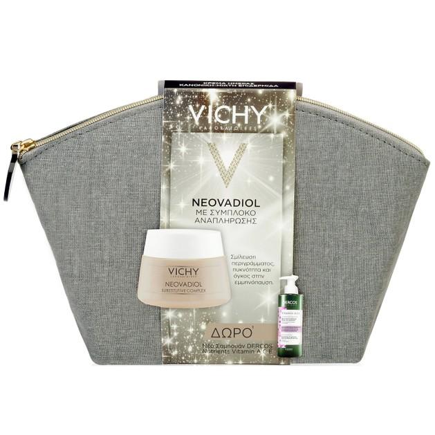 Vichy Πακέτο Προσφοράς Neovadiol Καν/Μικτή 50ml & Δώρο Dercos Nutrients Vitamin A.C.E Ενυδατικό Σαμπουάν Λάμψης 100ml