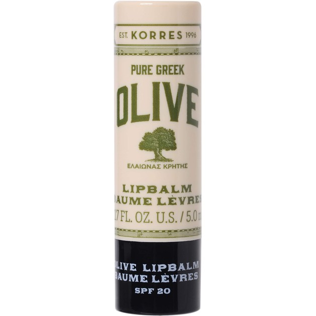 Korres Pure Greek Olive Extra Care Lip Balm Spf20 5ml