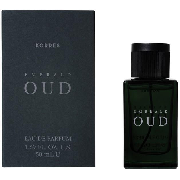 Korres Eau De Parfum Emerald Oud 50ml