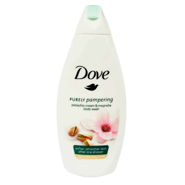 Dove Pistachio Cream & Magnolia Body Wash Χαλαρωτικό Αφρόλουτρο με Άρωμα Μανόλιας για Αίσθηση Εμπειρίας Spa στο Σπίτι 500ml