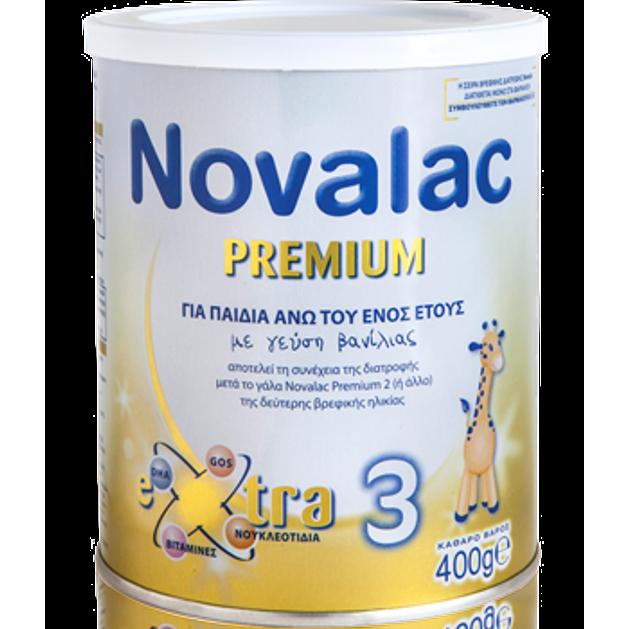 Novalac Premium Νο 3 Γάλα Για Παιδιά Άνω Του Ενός Έτους 400gr