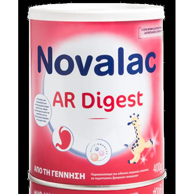 Novalac AR Digest  Παρασκεύασμα Για Ειδικούς Ιατρικούς Σκοπούς Σε Περιπτώσεις Βρεφικών Αναγωγών Από Την Γέννηση 400gr