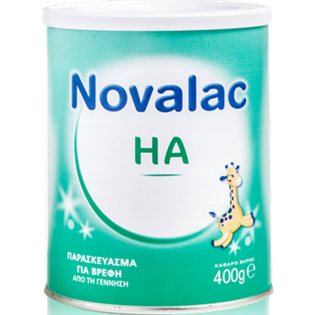 Novalac HA Παρασκεύασμα Για Βρέφη Από Την Γέννηση 400gr