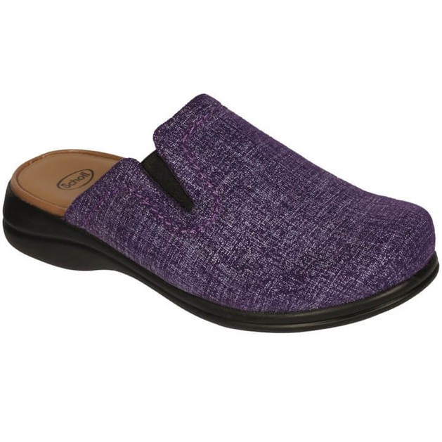 Scholl Shoes New Toffee Μωβ Γυναικείες Ανατομικές Παντόφλες, Χαρίζουν Σωστή Στάση & Φυσικό Χωρίς Πόνο Βάδισμα No 37 1 Ζευγάρι