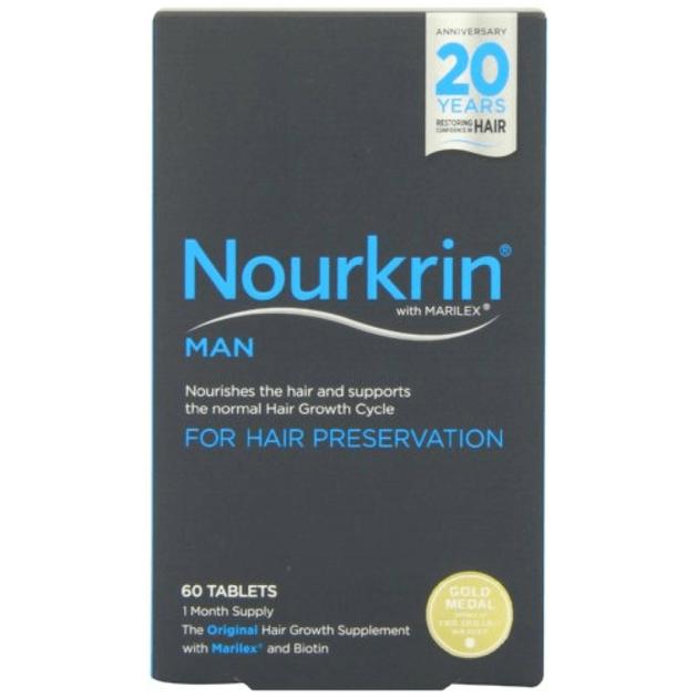 Nourkrin Man Για την Ανδρική Τριχόπτωση 60tabs