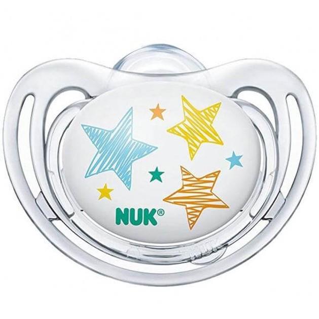 Nuk Freestyle Πιπίλα Σιλικόνης με Κρίκο 1τμχ