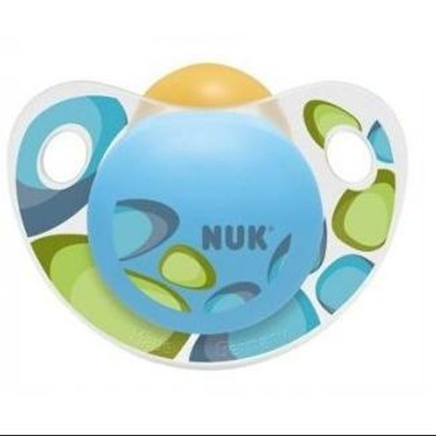 NUK Trendline Adore καουτσούκ χωρίς κρίκο, μεγέθη 1-3
