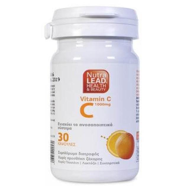 Nutralead Βιταμίνη C 1000mg 30 Κάψουλες