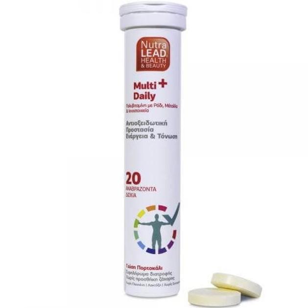 Δώρο NutraLead Multi+ Daily Συμπλήρωμα Διατροφής με Αντιοξειδωτική Δράση για τις Καθημερινές Ανάγκες του Οργανισμού 20Effer.Tabs
