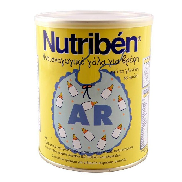 Nutriben AR Γάλα Για Την Αντιμετώπιση Των Αναγωγών 400gr
