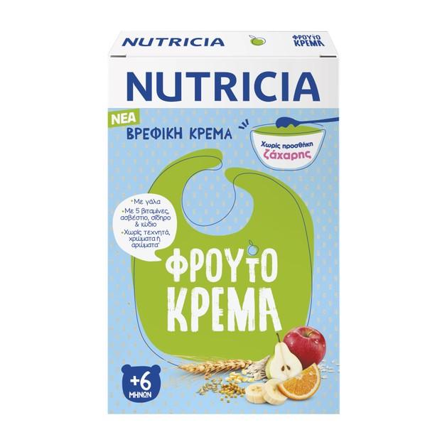 Nutricia Φρουτόκρεμα Βρεφική Κρέμα 6m+ 250gr