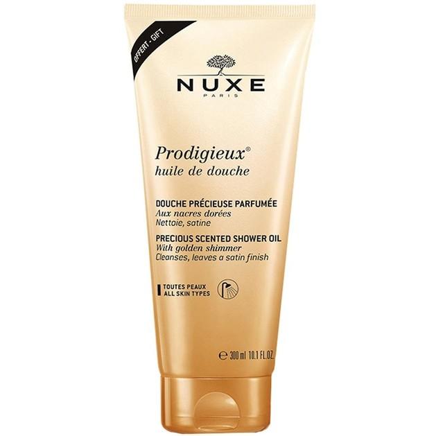 Nuxe Prodigieux Huile de Douche Ντελικάτο Αφρόλουτρο για Μεταξένια Αίσθηση 300ml