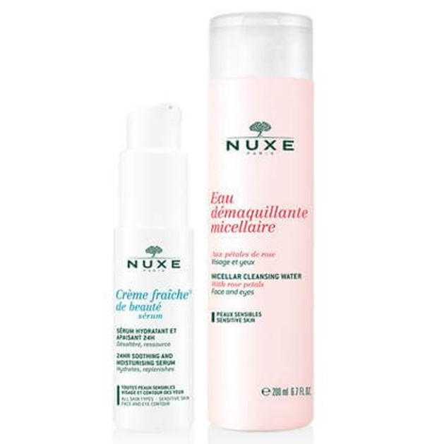 NUXE Πακέτο Προσφοράς Creme Fraiche Serum 30ml & Δώρο Eau Demaquillant Micellaire 200ml