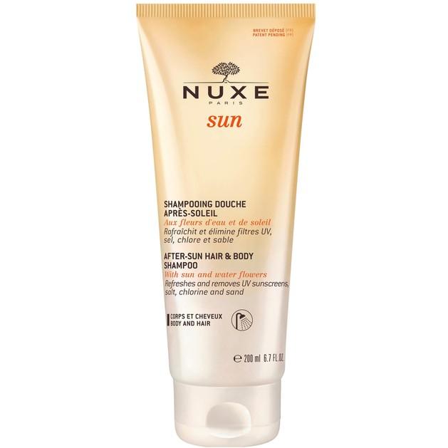 Nuxe Sun After-Sun Hair & Body Shampoo Σαμπουάν - Αφρόλουτρο για Μετά τον Ήλιο 200ml
