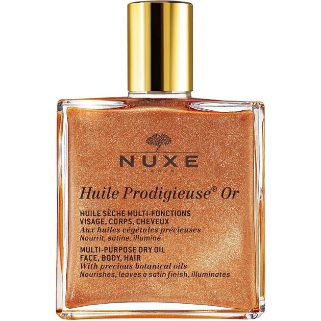 Δώρο Nuxe Huile Prodigieuse OR Ξηρό Λάδι Ενυδάτωσης & Λάμψης για Πρόσωπο-Σώμα-Μαλλιά με Χρυσαφένια Λάμψη 10ml