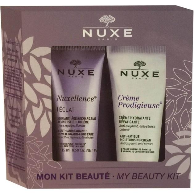 Δώρο Nuxe Mon Kit Beaute Σετ Λάμψης & Ενυδάτωσης με Nuxellence Eclat 15ml & Nuxe Prodigieuse Crème 15ml