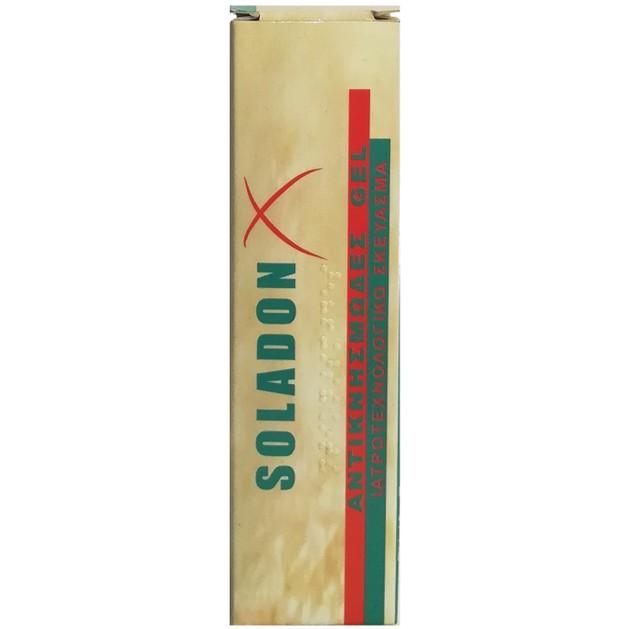 Soladon X Αντικνησμώδες Gel, Τοπικής Χρήσης για την Συμπτωματική Αντιμετώπιση του Κνησμού 25ml