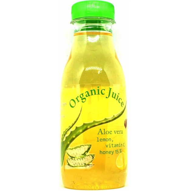 Erythro Forte Organic Juice Aloe Vera Χυμός Αλόης Lemon Συμβάλλει στην Αποτοξίνωση & στην Καλή Υγεία του Οργανισμού 500gr