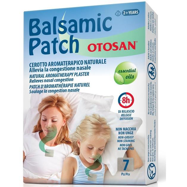 Otosan Balsamic Patch Φυσικό Επίθεμα Αρωματοθεραπείας, Καταπραΰνει από την Ρινική Συμφόρηση 7 Patches