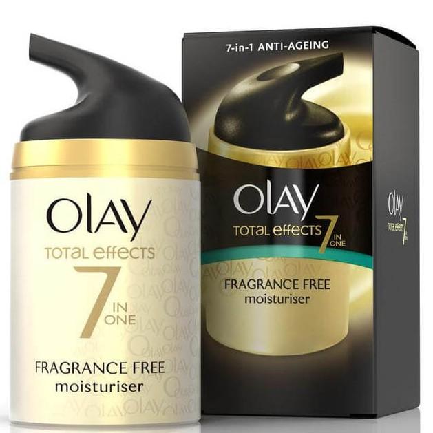 Olay Total Effects 7 Αντιγηραντική Ενυδατική Κρέμα Ημέρας Χωρίς Άρωμα Νέα Βελτιωμένη Σύνθεση 50ml