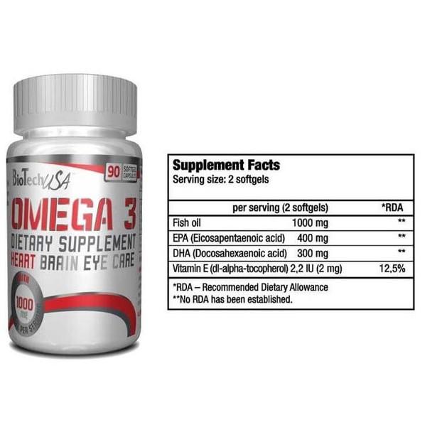 Biotech Usa Omega-3 Υγεία Των Αρθρώσεων 90softgels