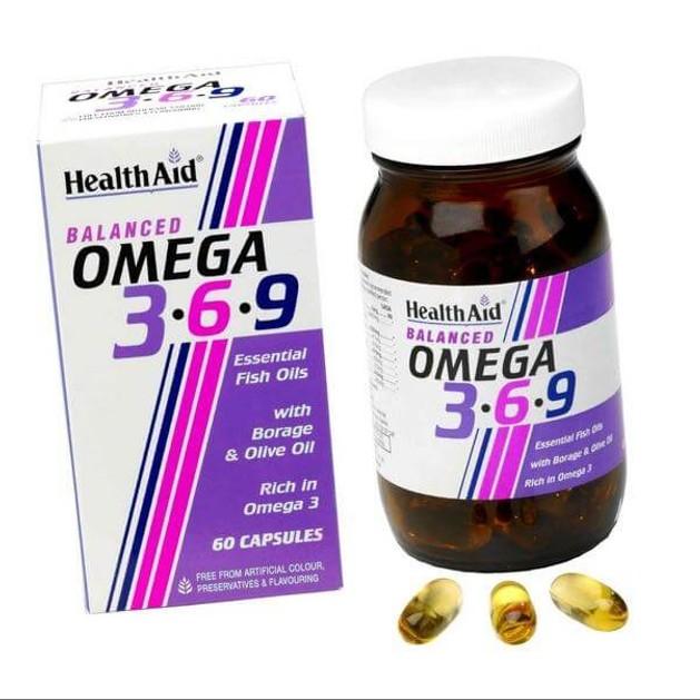 Health Aid Omega 3 - 6 - 9