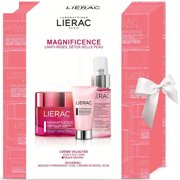 Lierac Πακέτο Προσφοράς Magnificence Creme 50ml & Δώρο Hydragenist Masque 10ml & Mist 30ml
