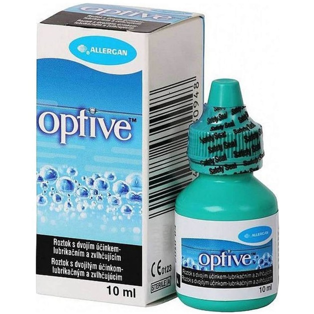 Optive Lubricant Eye Drops 10ml