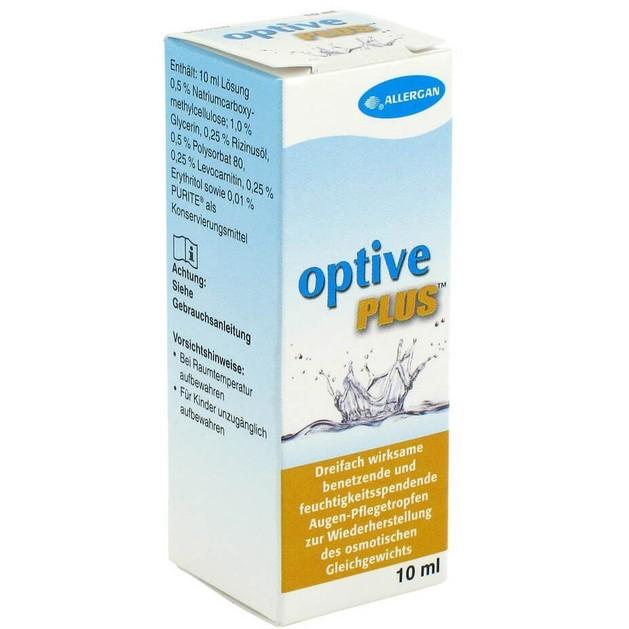 Optive Plus Eye Drops 10ml