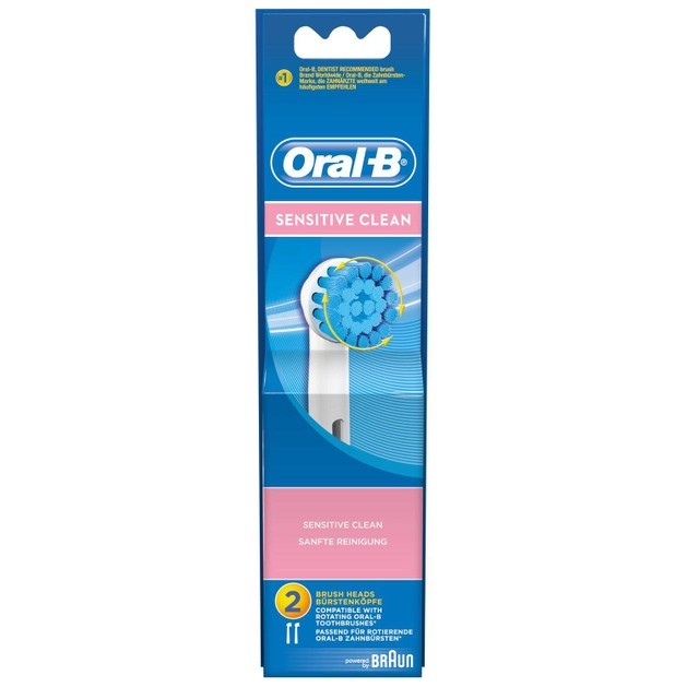 Oral-B Ανταλλακτικά Βουρτσάκια Sensitive 2τεμάχια