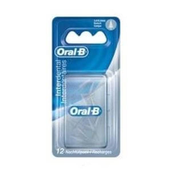Oral-B Interdental Ανταλλακτικά Βουρτσάκια Κωνικά Για Καθαρισμό Των Μεσοδοντίων Διαστημάτων  12τμχ