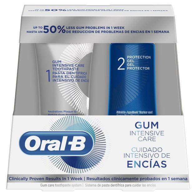 Δώρο Oral-B Gum Intensive Care 1 Οδοντόκρεμα x 52ml & 1 Gel Προστασίας x 63ml