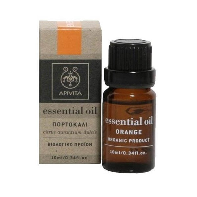 Apivita Essential Oil Orange Πορτοκάλι 10ml