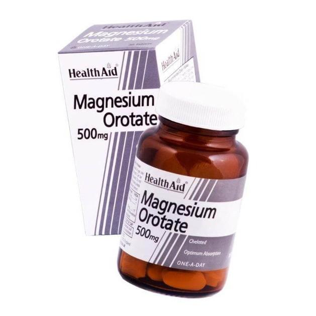 Health Aid Magnesium Orotate 500mg 30tabs
