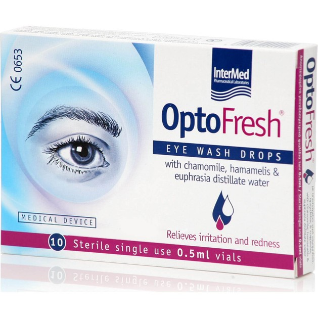 Intermed Optofresh Drops 10x0,5ml