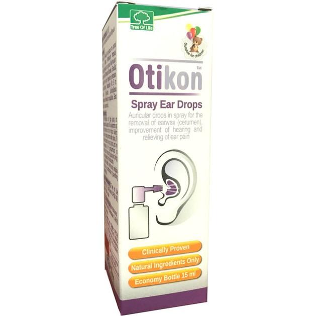SM Pharmaceuticals Otikon Ωτικό Εκνέφωμα για την Απομάκρυνση της Κυψελίδας, Μόνο με Φυτικά Συστατικά 15ml