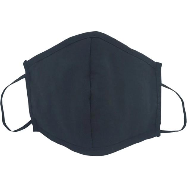 Υφασμάτινη Μάσκα Πολλαπλών Χρήσεων Μαύρη Βαμβακερή 1 Τεμάχιο