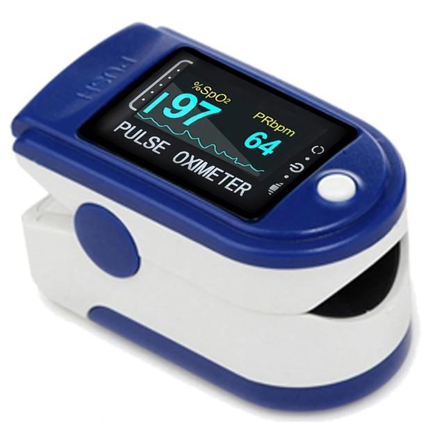 Fingertip Pulse Oximeter Παλμικό Οξύμετρο Δακτύλου 1 Τεμάχιο