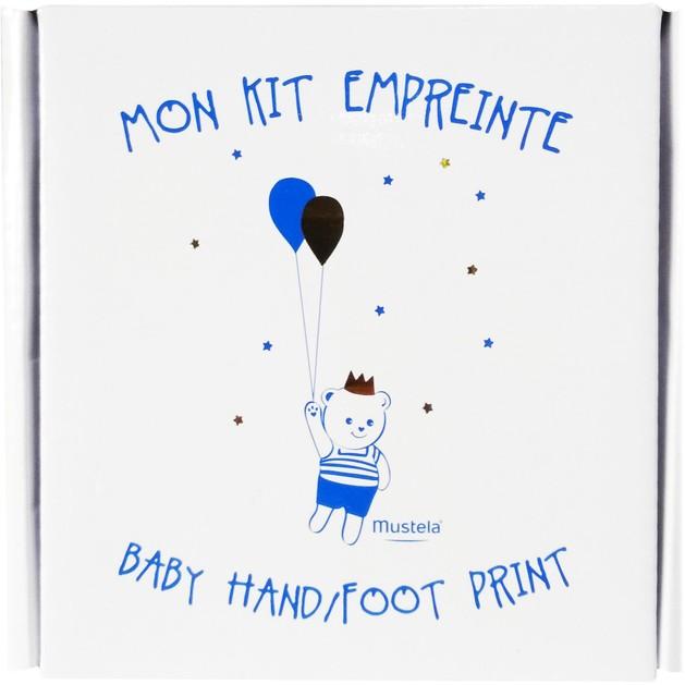 Δώρο Mustela Baby Hand Foot Print Αναμνηστικό Κιτ για το Πρώτο Βρεφικό Αποτύπωμα