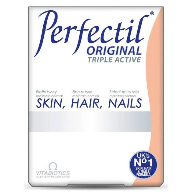 Δώρο Vitabiotics Perfectil Original Συμπλήρωμα Διατροφής για Υγεία του Δέρματος των Μαλλιών και των Νυχιών 7 tabs