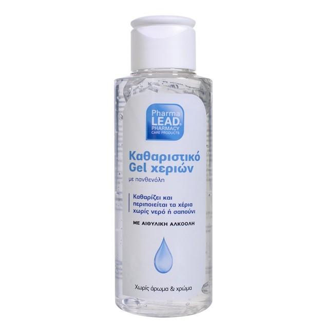 Pharmalead Αντισηπτικό - Καθαριστικό Gel Χεριών με Πανθενόλη Χωρίς Άρωμα & Χρώμα 100ml